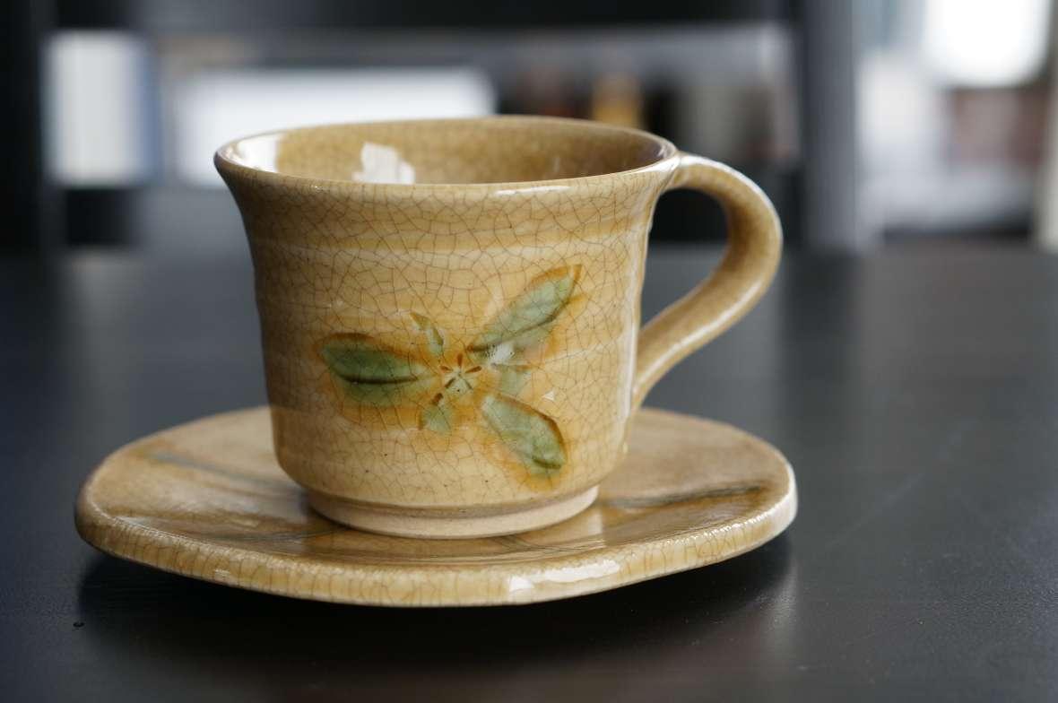 三峰園さんカップ&ソーサー1