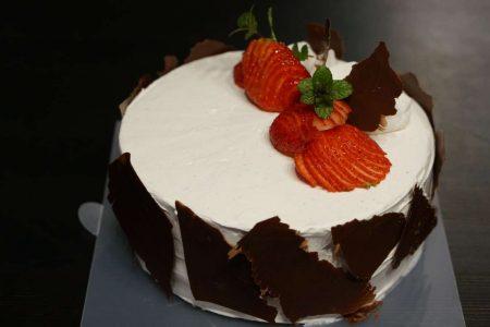 苺とチョコレートのアントルメ