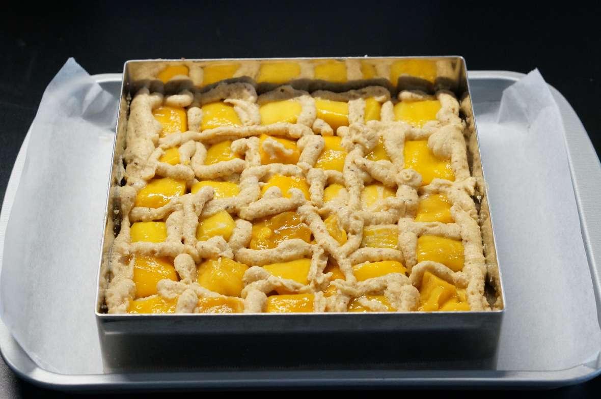 マンゴーとナッツのアントルメ5