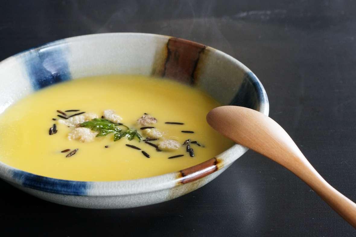 2種の南瓜のスープ