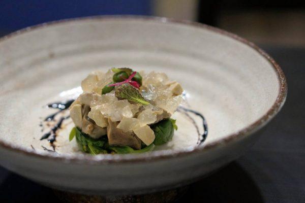 砂肝・フォアグラ・菜の花