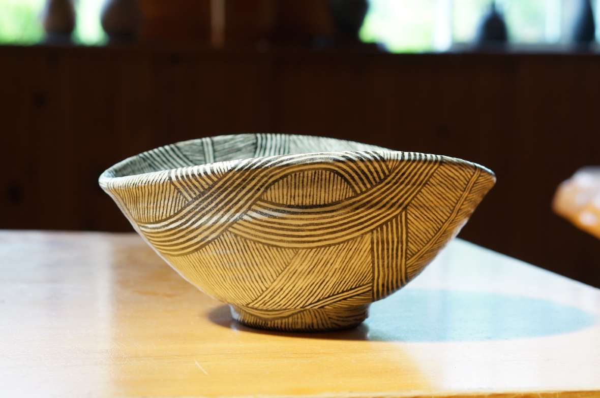 流線紋深鉢2