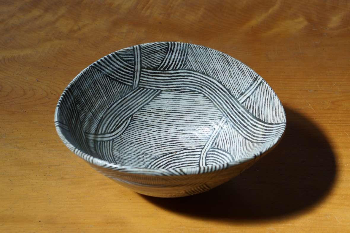 流線紋深鉢3