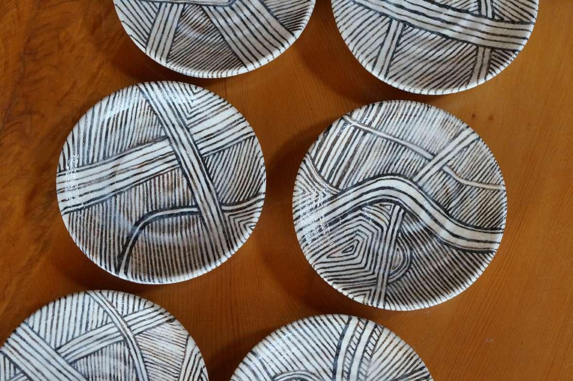 線紋小皿2