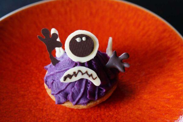 紫芋のモンブランタルトレット